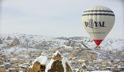 Royal Balloon in the air of Cappadocia